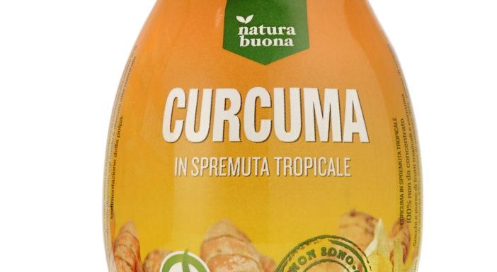 Natura Buona lancia la spremuta tropicale alla curcuma