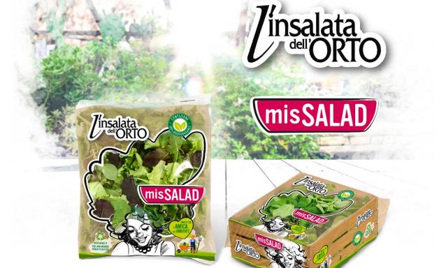 L'Insalata dell'Orto innova con i valori del brand MisSalad