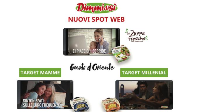Le Zuppe DimmidiSì protagoniste di una campagna crossmediale