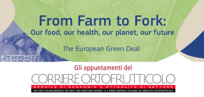 Dal 30 ottobre 5 incontri online per capire la strategia europea Farm to Fork
