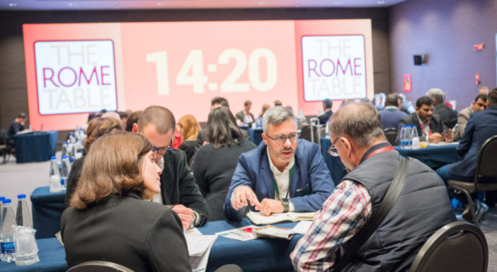 A The Rome Table aziende di 10 regioni italiane e ritorni per oltre il 70%